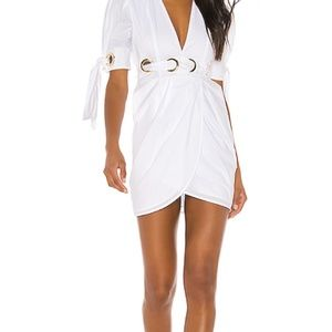 Alice McCall-Everything Grommet Cotton Dress
